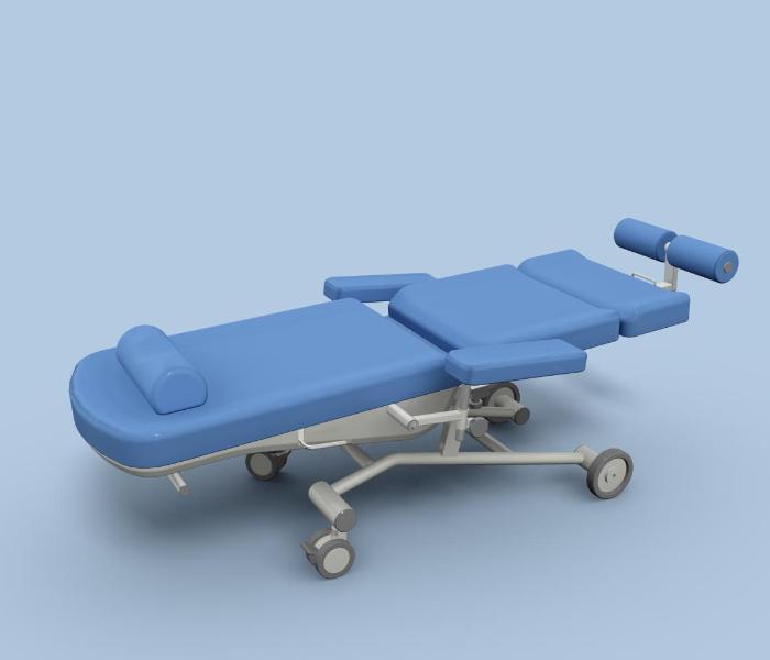 Uniwersalny fotel zabiegowy FoZa Mobil