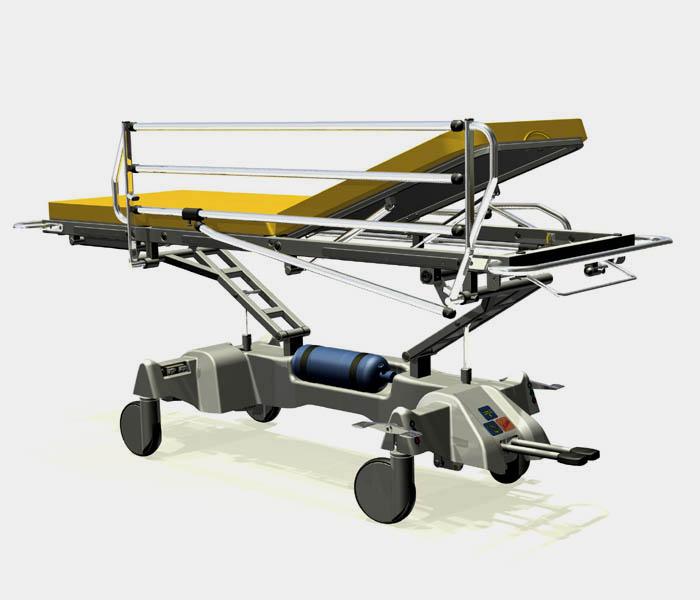 Wózek do przewożenia chorych WP-06