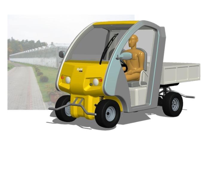 Projekt koncepcyjny pojazdu elektrycznego