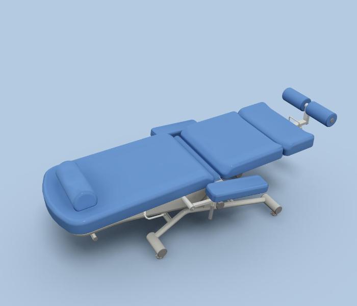 Uniwersalny fotel zabiegowy FoZa Basic