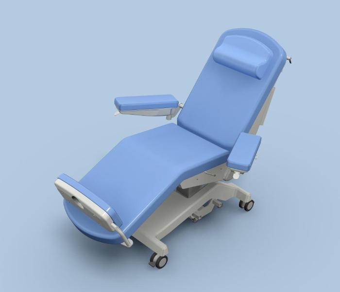 Wielofunkcyjny fotel zabiegowy FoZa Multi