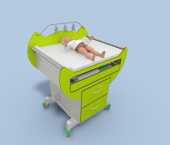 Stół do badania niemowląt