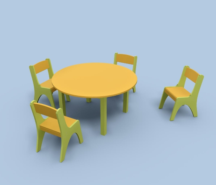 Krzesełka przedszkolne