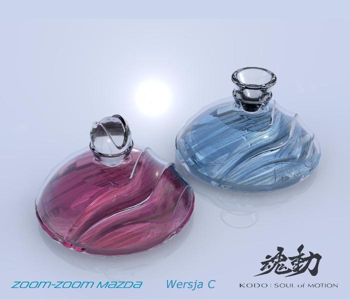 Projekt koncepcyjnybutelek na perfumy