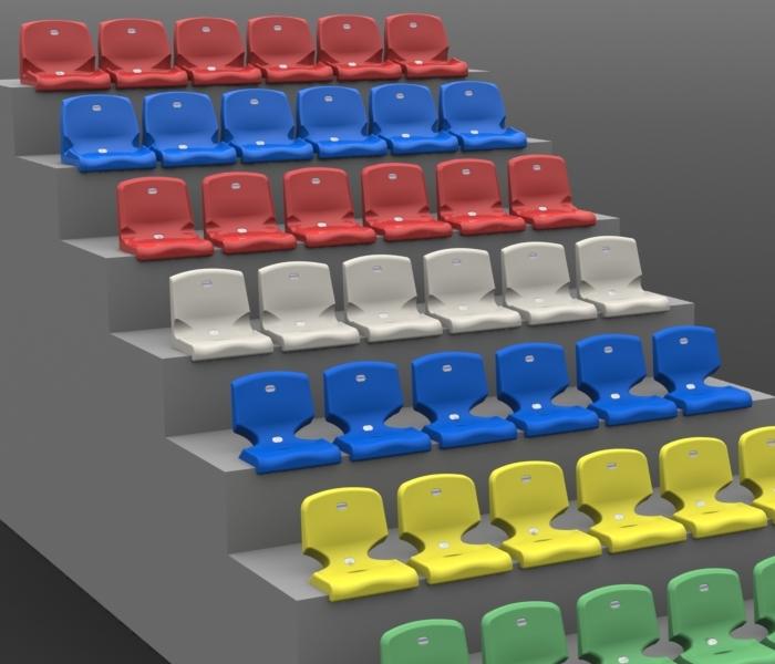 Siedzenia audytoryjne i stadionowe