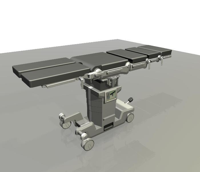 Projekt koncepcyjny stołu operacyjnego