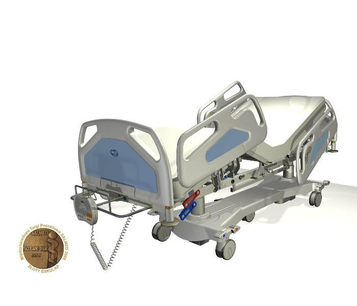 Łóżko szpitalne - LE-12 Vigo Duo przeznaczone na Oddziały Intensywnej Opieki Medycznej