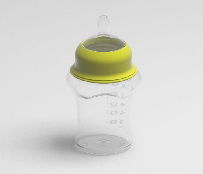 Projekt koncepcyjny butelki do karmienia niemowląt